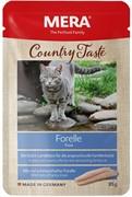 Country Taste Forelle пауч для кошек с форелью