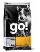 GO! NATURAL HOLISTIC Для щенков и собак с цельной уткой и овсянкой, Sensitivity + Shine Duck Dog Recipe 2,72 кг