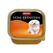 Анимонда Vom Feinsten Classic кон.д/собак с Домашней птицей и Телятиной 150г