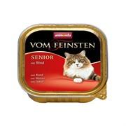 Animonda Консервы для кошек старше7 лет с говядиной(Vom Feinsten Senior) 0,1кг
