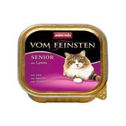 Animonda Консервы для кошек старше7 лет ягненком (Vom Feinsten Senior)  0,1кг