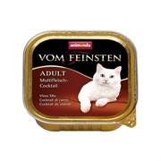 Animonda Консервы для взрослых кошек коктейль из разных сортов мяса (Vom Feinsten Adult)  0,1кг