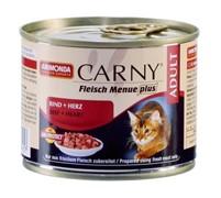 Анимонда  Carny Adult кон.д/кошек с Говядиной и Сердцем 200г