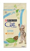 CAT CHOW Пурина Кет Чау Киттен кура 1,5 кг
