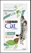 CAT CHOW  Для кастрированных кошек, Special Care Sterilised (1,5 кг)