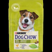 Dog Chow  корм для взрослых собак мелких пород курица (2,5 кг)