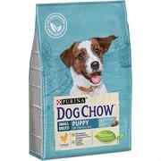 Dog Chow Puppy для щенков мелких пород курица (2,5 кг)