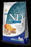 FARMINA N&D OCEAN DOG CODFISH, SPELT, OATS AND ORANGE ADULT MINI
