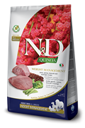 FARMINA N&D DOG GRAIN FREE QUINOA WEIGHT MANAGEMENT LAMB