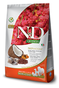 FARMINA N&D DOG GRAIN FREE QUINOA SKIN & COAT HERRING