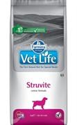 FARMINA Vet Life Dog Struvite Растворение и подавление образования струвитных уролитов 12 кг