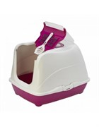 Moderna Туалет-домик Jumbo с угольным фильтром, 57х44х41см, ярко-розовый