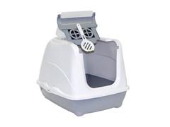 Moderna Туалет-домик Jumbo с угольным фильтром, 57х44х41см, теплый серый