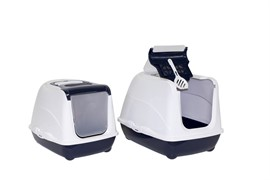 Moderna Туалет-домик Jumbo с угольным фильтром, 57х44х41см, черничный