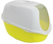 Moderna Туалет-домик SmartCat с угольным фильтром, 54х40х41см,  лимонно-желтый (Smart cat)