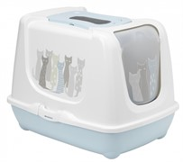 Moderna Туалет-домик Trendy Cat с угольным фильтром и совком, 57,4х44,8х42,7 (Maasai)