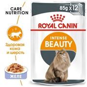 ROYAL CANIN Кусочки в желе для кошек 1-7 лет : идеальная кожа и шерсть, Intense Beauty (0,085 кг)