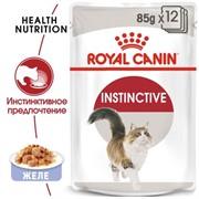 ROYAL CANIN Кусочки в желе для кошек 1-10 лет, Instinctive in Jelly