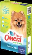 Омега Neo+ Лакомство мультивитаминное д/собак Блестящая шерсть с биотином