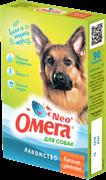 Омега Neo+ Лакомство мультивитаминное д/собак Крепкое здоровье с морскими водорослями