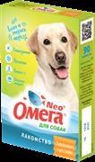 Омега Neo+ Лакомство мультивитаминное д/собак Здоровые суставы с глюкозамином и коллагеном