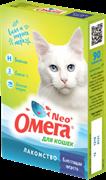 Омега Neo+ Лакомство мультивитаминное д/кошек Блестящая шерсть с биотином и таурином