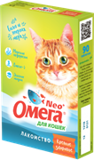 Омега Neo+ Лакомство мультивитаминное д/кошек Крепкое здоровье с морскими водорослями