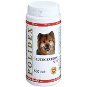 POLIDEX д/собак Глюкогекстрон плюс 500 тб.