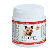 POLIDEX д/собак Протевит плюс 150 тб.