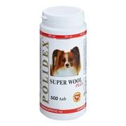 POLIDEX д/собак Супер Вул плюс 500 тб.