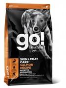 GO! NATURAL HOLISTIC Для щенков и собак со свежим лососем и овсянкой, Sensitivity + Shine Salmon Dog Recipe