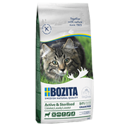 BOZITA Сухой беззерновой корм д/стерилиз. растущих, взросл. и активных кошек с ягненком