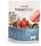Italian Way безглютеновый, для стерилизованных кошек, с лососем и сельдью