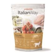 Italian Way безглютеновый для кошек, с курицей и рисом 8 кг