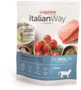 Italian Way безглютеновый, для стерилизованных кошек, с лососем и сельдью (8 кг)