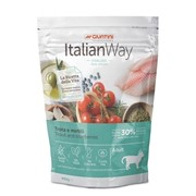 Italian Way Italian Way беззерновой для кошек, со свежей форелью и черникой, контроль веса и профилактика аллергии, Ideal Weight Trout/Blueberry (8 кг)