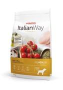Italian Way безглютеновый, для собак, с курицей и рисом