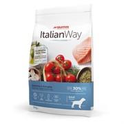 Italian Way безглютеновый, для собак с чувствительной кожей, лосось и сельдь