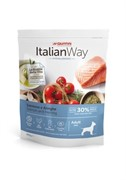 Italian Way безглютеновый, для собак малых пород с чувствительной кожей, лосось и сельдь (8 кг)