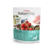 Italian Way беззерновой, для собак малых пород, со свежей форелью и черникой, контроль веса и профилактика аллергии, Mini Ideal Weight Trout/Blueberry (8 кг)