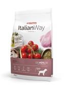 Italian Way беззерновой, для собак с чувствительным пищеварением, со свежей уткой, Medium Sensitive Duck  (12 кг)