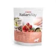 Italian Way беззерновой, для щенков со свежей курицей и индейкой, Junior Starter Chicken/Turkey (8 кг)