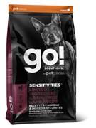 GO! беззерновой для щенков и собак, с ягненком для чувствительного пищеварения, Sensitivity + Shine LID Lamb Dog Recipe, Grain Free, Potato Free