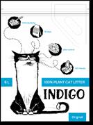 INDIGO наполнитель растительный с ароматом жасмина 12 л
