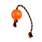 Doglike мяч с канатом, оранжевый