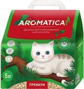 AromatiCat древесный комкующийся наполнитель Premium