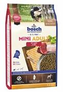 Bosch Mini Adult с ягнёнком и рисом сухой корм для собак 15 кг