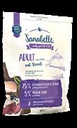 Sanabelle Adult корм д/кошек с мясом Страуса