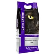 Indian Cat Litter Аромат Лаванда наполнитель бентонит  10 кг