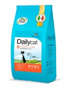Dailycat ADULT Hairball Turkey and Rice корм для взрослых кошек для вывода шерсти с индейкой и рисом